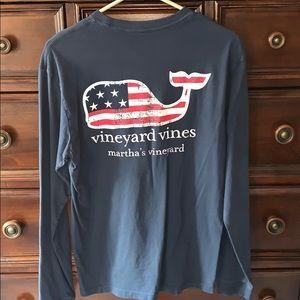 Vineyard Vines Long Sleeved T Shirt